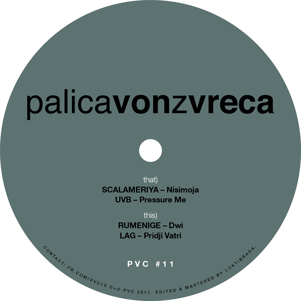 PalicaVonZVreca PVC11 Cover Artwork