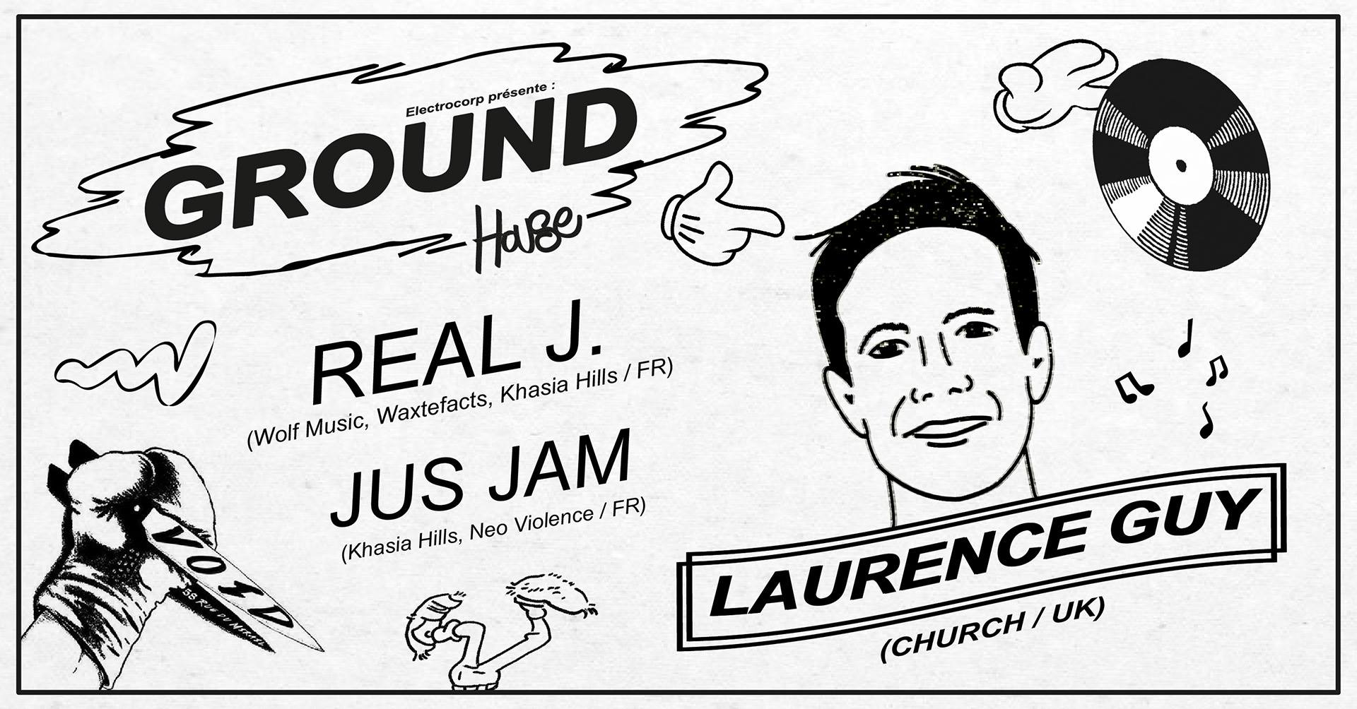 Ground invite Laurence Guy au VOID