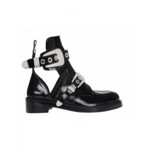 Black-CutOut-BootS-Silver-Buckles