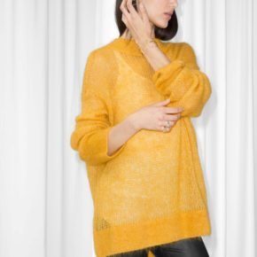 mohair jumper jaune other stories